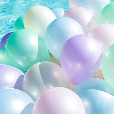 Balões Perolizados