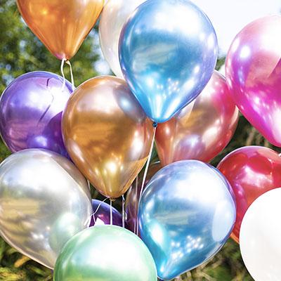 Balões de Alumíno