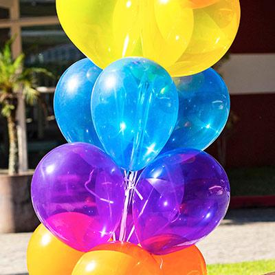 Balões Cristal