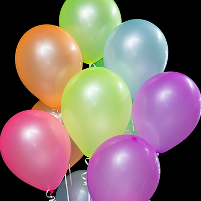 Balões Neon