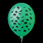 Dinossauros Verde Bandeira