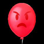 Emoticons 8 Vermelho