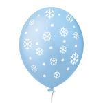 Floco de Neve Azul Claro