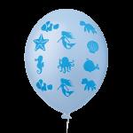 Fundo do Mar Azul Claro
