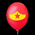 Happy Hero Wonder Vermelho