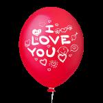 I Love You Vermelho