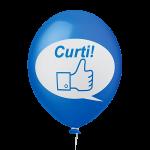 Placa Festa Azul Curti