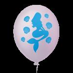 Sereia Rosa Bebê